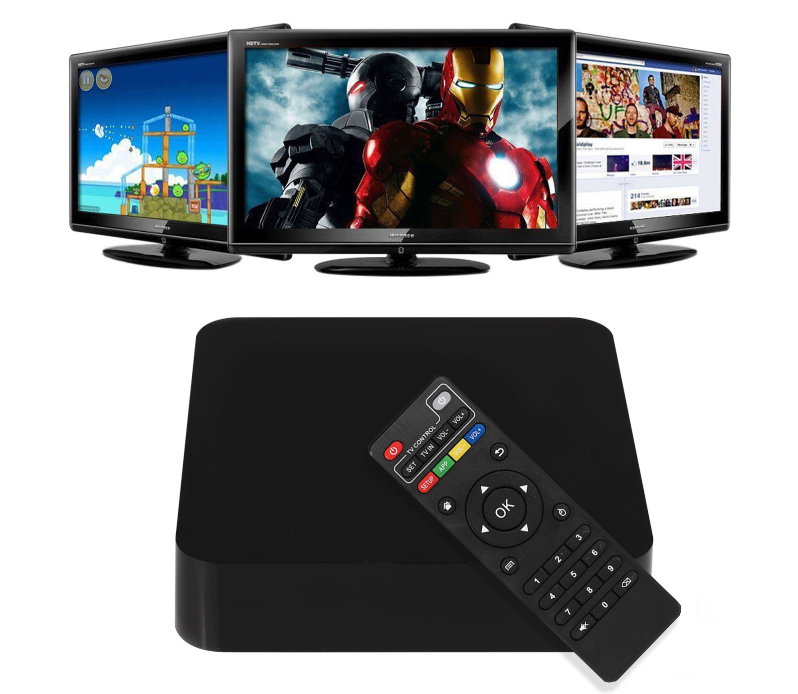 Android TV Box – Ubah Tampilan TV Biasa Anda Jadi Smart TV Android !