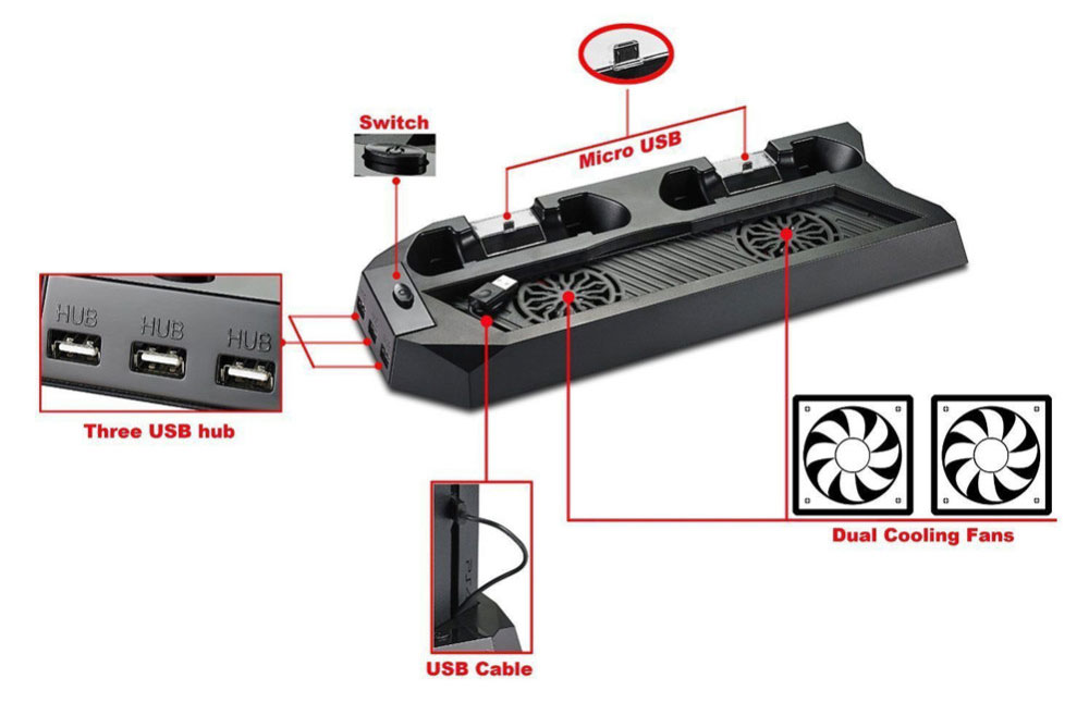 dual docking charger