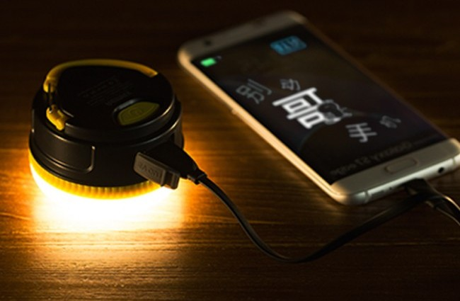 lampu led powerbank