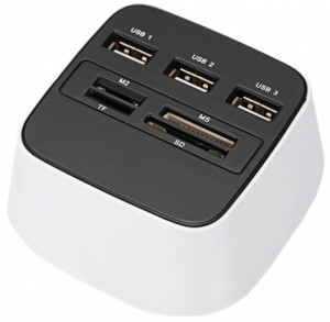 card reader usb hub