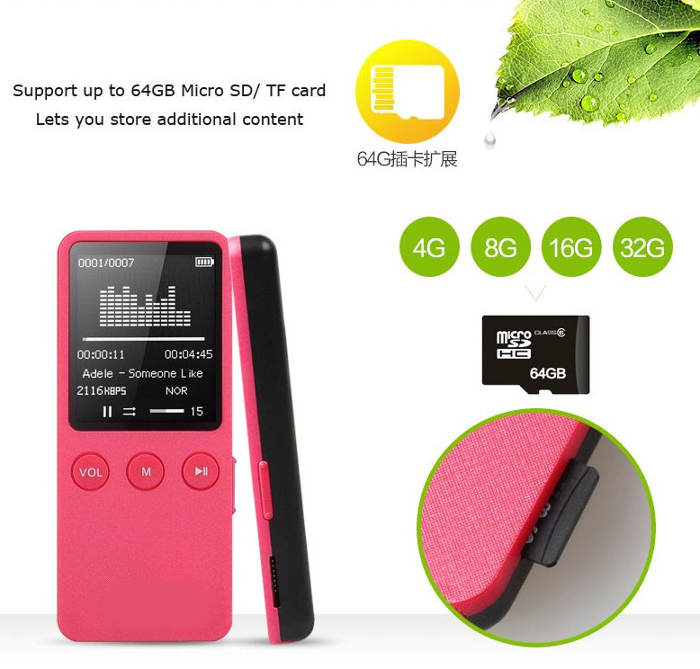 ruizu x08 mp3 player 4