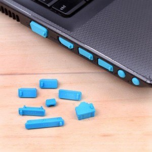Laptop Dust Plugs / Tutup Pelindung Debu Port Laptop