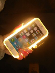 case iphone led selfie