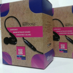 Earphone Basic IE-88HD DJ In Ear Monitor