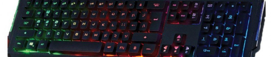 keyboard game lampu LED
