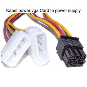 konverter vga to power supply