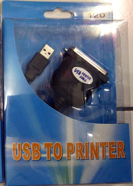 kabel usb to paralel printer