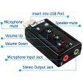 7.1 Channel USB External Sound Card Audio Adapter