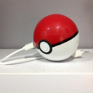 Power Angel - Pokemon Pokeball Powerbank Type 2 - 8.400mah
