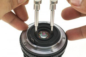 Lens Opener Double Shaft