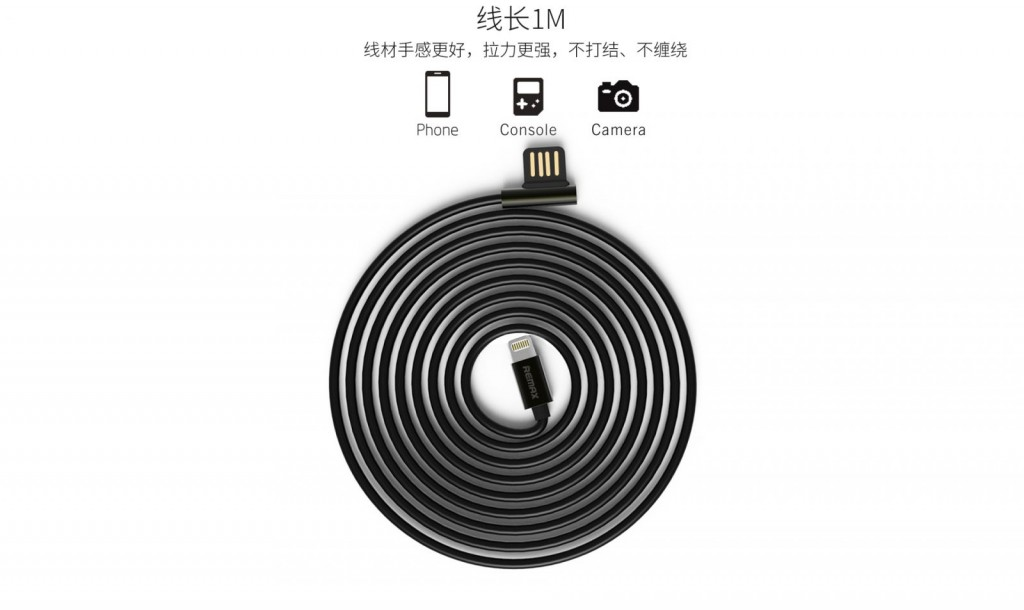 Remax Emperor Lightning Data Cable for iPhone - RC-054i RC-045m 7