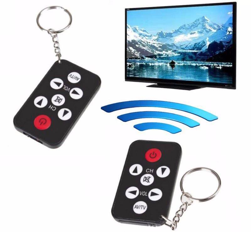 Universal TV Remote Control Mini with Keychain 1