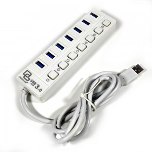 usb hub 7 port praktis