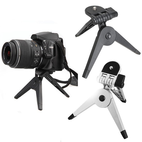 2 in 1 Portable Mini Folding Tripod Jangka for DSLR 4