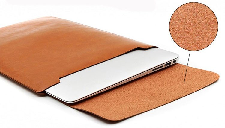 Leather sleeve Case for Laptop Macbook Pro 15 Inch 2016 2