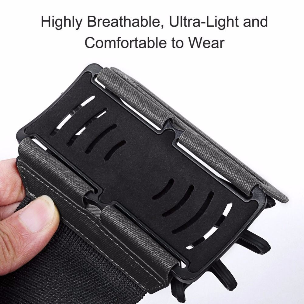 Wristband Smartphone Holder 180 Degree Rotatable 3