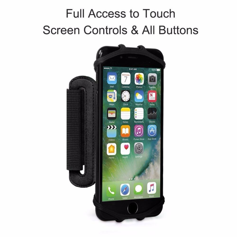 wristband-smartphone-holder-180-degree-rotatable-black-5