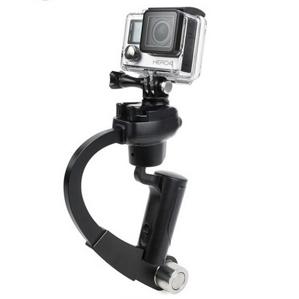 Plastic Handheld Curve Stabilizer for GoPro & Xiaomi Yi 4