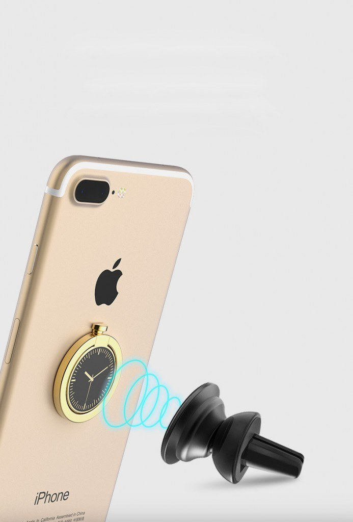 Metal Ring Smartphone Holder Desain Arloji 2