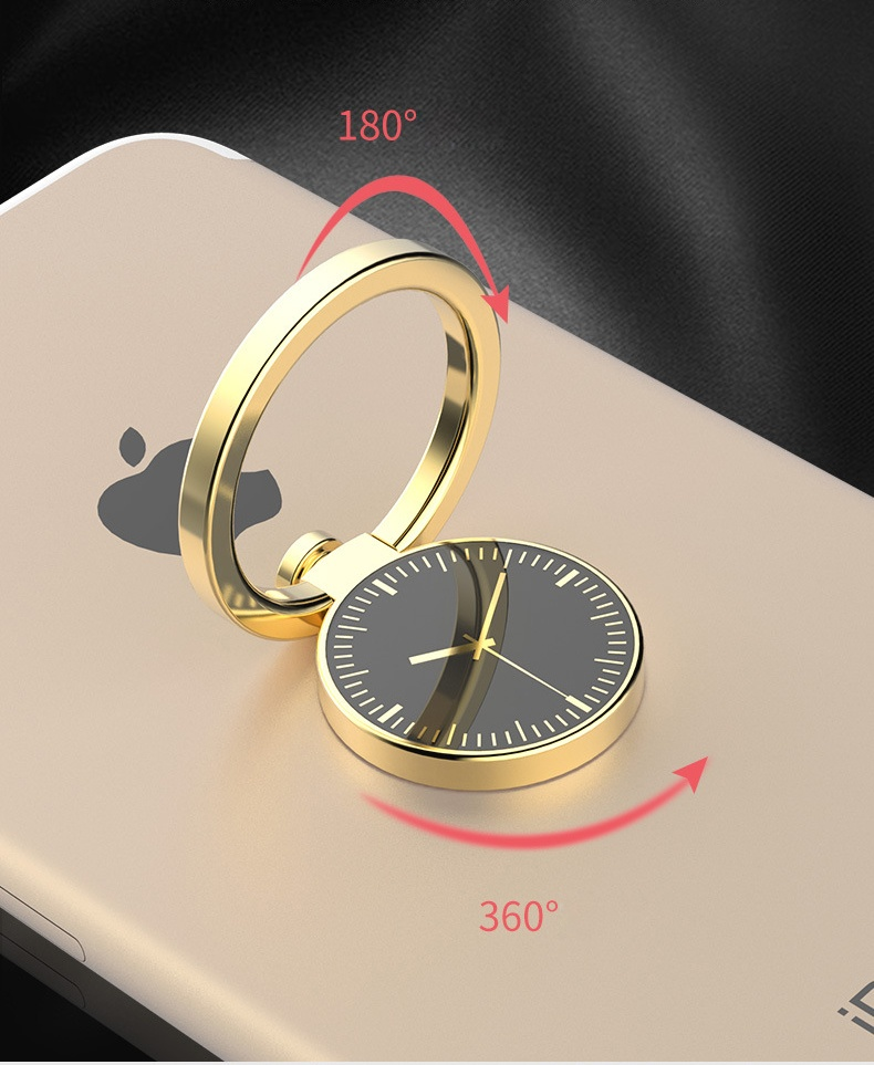 Metal Ring Smartphone Holder Desain Arloji 3