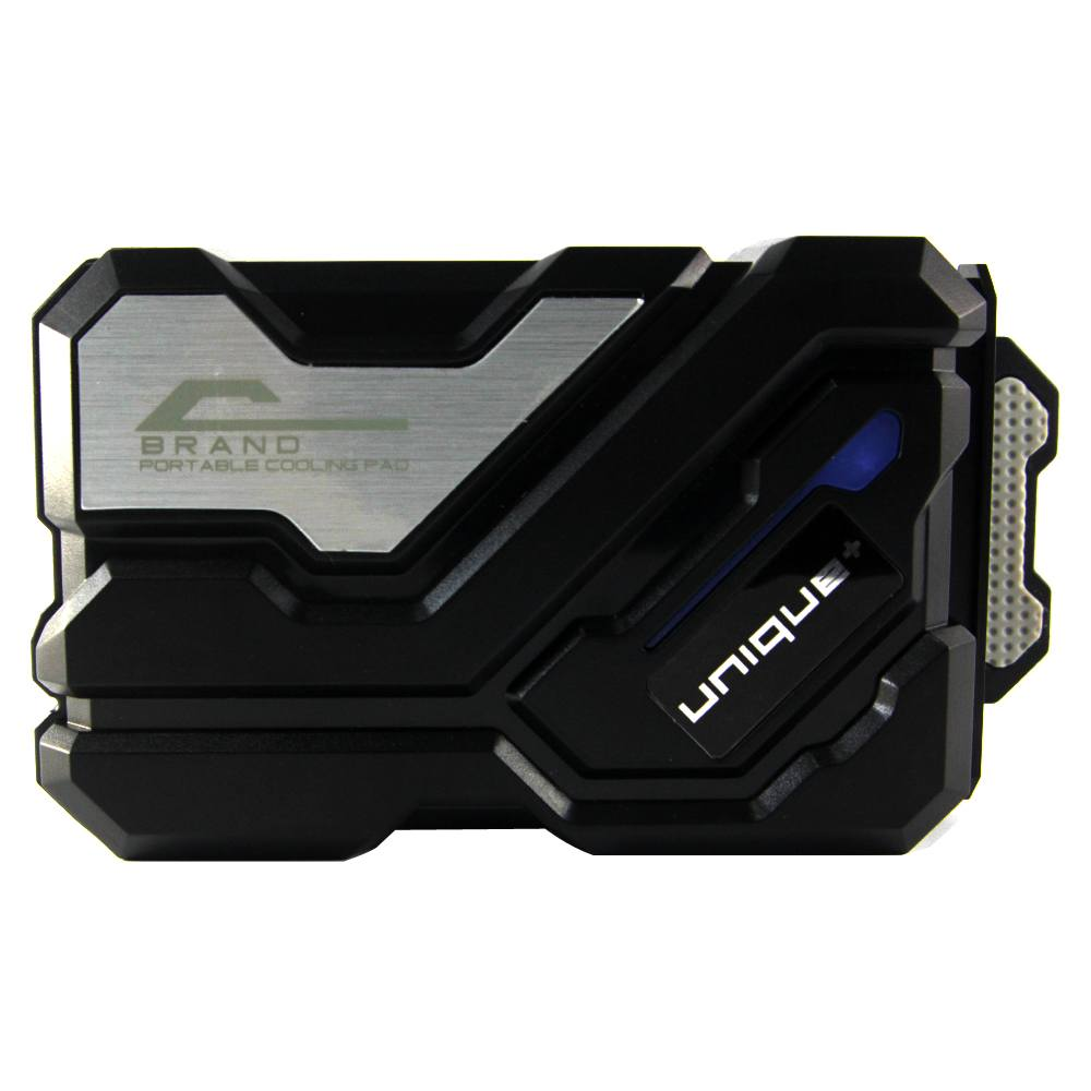 Unique Vacuum Cooler Laptop Universal / Cooler Gaming / Kipas Laptop - Hitam