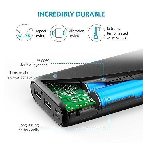 Anker PowerCore 20100 mAh - Black [A1271H12]