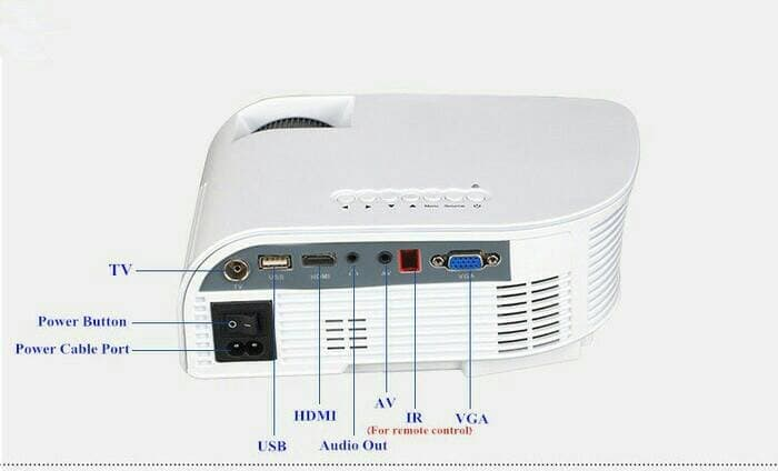 Projector RD805B Built In TV Tuner, HD 1200 Lumens New Model