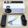 Mini Projector UB-10 TV 1500 Lumens Built In TV Tuner New Generation